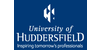 Logo University of Huddersfield