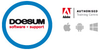 Logo van DOESUM software + support