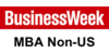 Logo Business Week MBA Ranking Non-US